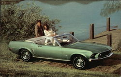 Better Ideas Come From Ford - 1969 Mustang Convertible