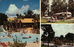 Holiday Inn Trav-L-Park Postcard