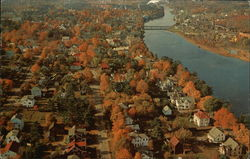 Aerial Showing Fall Color