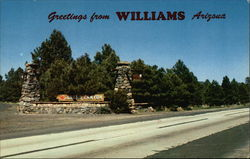 Greetings from Williams Arizona