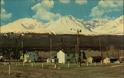 Village of Haines Junction, With St. Elias Mountains