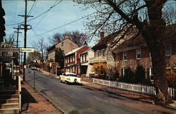 Mechanic Street in Bucks County Pennsylvania