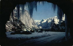 Wawona Tunnel Entrance, Winter
