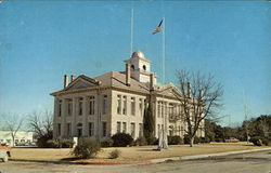 Blanco County Courthouse Postcard