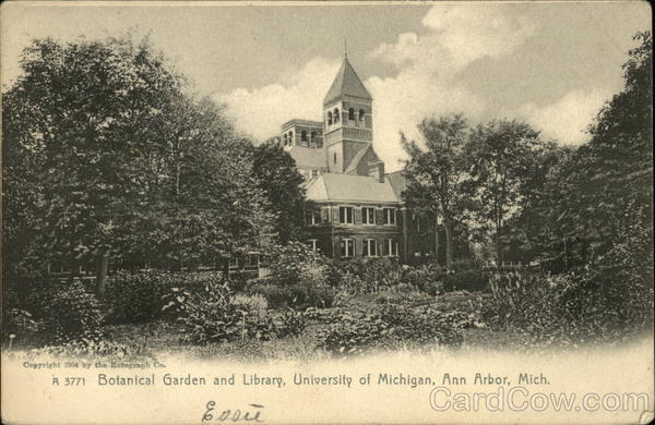Botanical Garden and Library, University of Michigan Ann Arbor