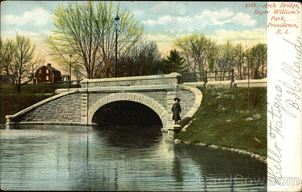 Arch Bridge, Roger William's Park Providence Rhode Island
