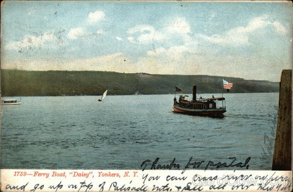 Ferry Boat Daisy Yonkers New York