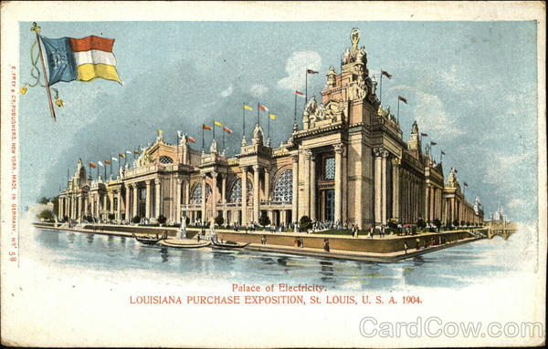 Palace of Electricity, Louisiana Purchase Exposition St. Louis Missouri
