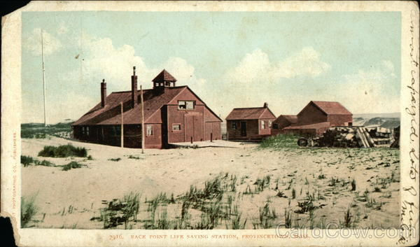 Race Point Life Saving Station Provincetown Massachusetts