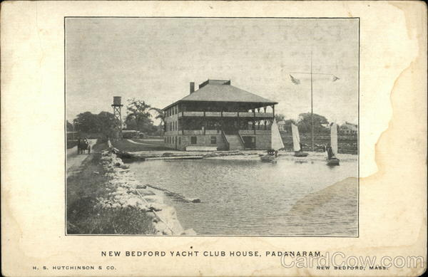New Bedford Yacht Club House, Padanaram Massachusetts
