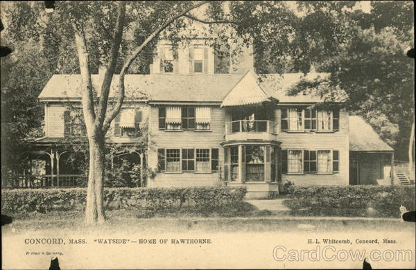 Wayside - Home of Hawthorne Concord Massachusetts