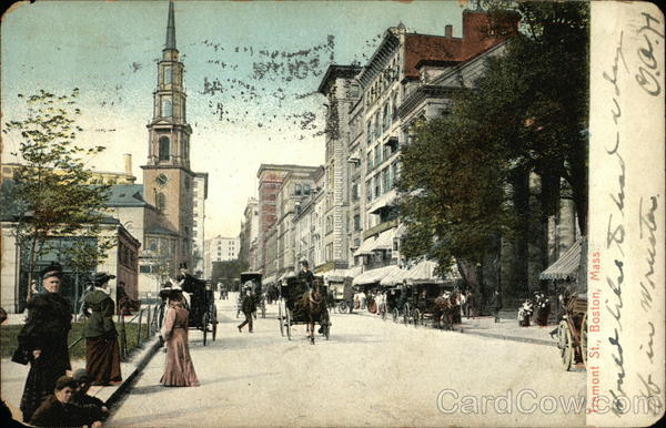 Tremont Street Boston Massachusetts