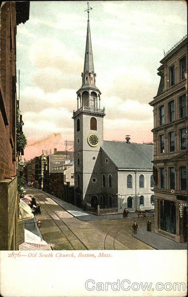 Old South Church Boston Massachusetts