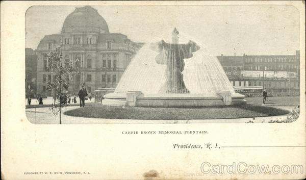Carrie Brown Memorial Fountain Providence Rhode Island