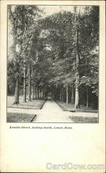 Kemble Street, Looking South Lenox Massachusetts