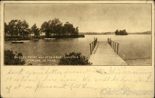 Breezy Point and Steamboat Landing Sterling Massachusetts