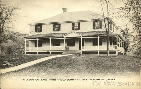 Hillside Cottage, Northfield Seminary East Northfield Massachusetts