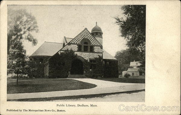 Public Library Dedham Massachusetts