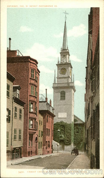 Christ Church, Old North Boston Massachusetts