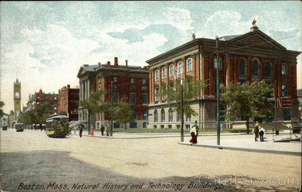 Natural History and Technology Buildings Boston Massachusetts