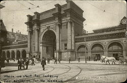 North Union Station Postcard