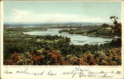 Connecticut River and Holyoke From Mountain Park