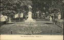 Perry Monument and Green