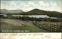Wilson Pond, Moosehead Lake