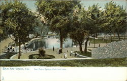 San Pedro Springs Park and Lake