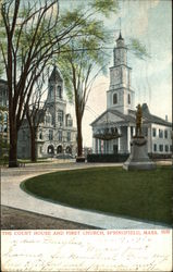 The Court House and First Church