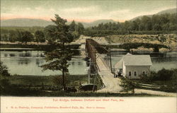Toll Bridge, Between Dixfield and West Peru, Me
