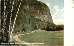 Mt. Kineo and the Golf Grounds Postcard