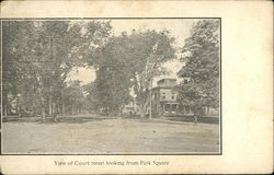 View of Court Street Looking From Park Square