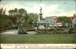 The Fountain, Bushnell Park