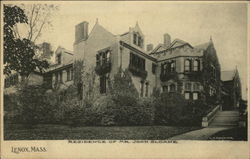 Residence of Mr. John Sloane
