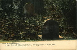 Grave of Nathaniel Hawrthorne, Sleepy Hollow