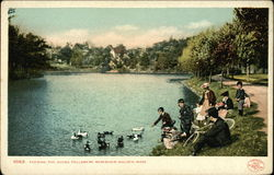 Feeding the Ducks, Fellsmere Reservoir