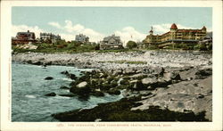 The Oceanside, from Cobblestone Beach Postcard
