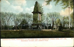 Monument to Men Who Fell on Lexington Green, April 19th, 1775, Buckman Tavern and Liberty Pole