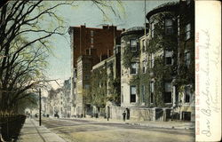 Beacon St. at the Sommerset Club Postcard