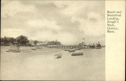 Beach and Steamboat Landing, Hough's Neck