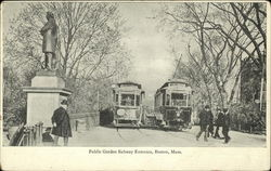 Public Garden Subway Entrance