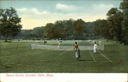 Tennis Courts, Franklin Park