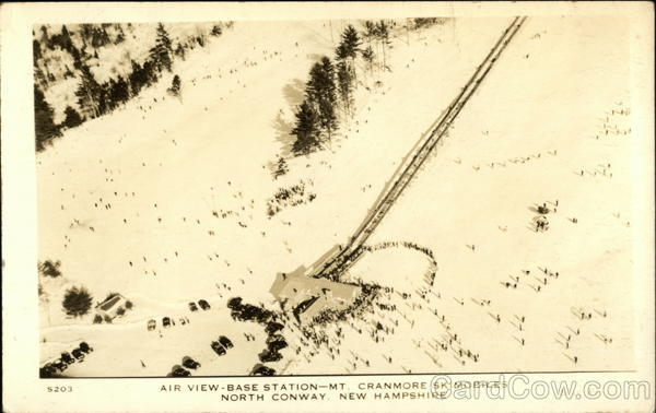 Air View Base Station - Mt. Cranmore Skimobiles North Conway New Hampshire