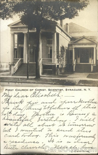 First Church of Christ, Scientist Syracuse New York