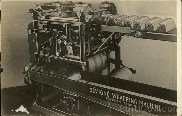 Sevigne Wrapping Machine Advertising