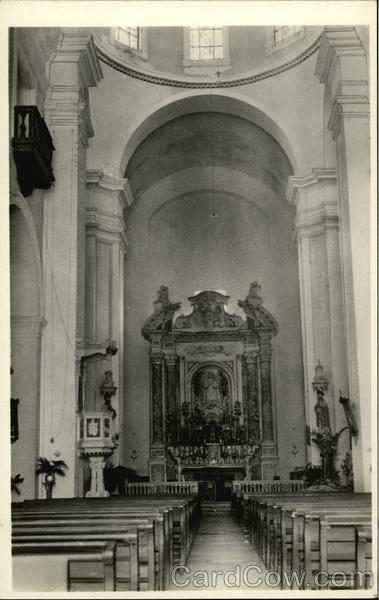 Main Altar In St. Peter Claver Church Cartagena Colombia