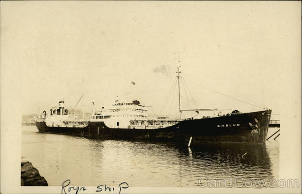 E.H. Blum Ship Boats, Ships
