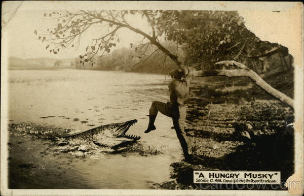 A Hungry Musky Exaggeration