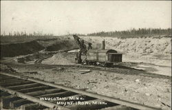 Waucotah Mine, Steamshovel